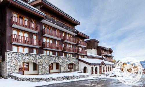 Location au ski Appartement 2 pièces 5 personnes (Confort 22m²) - Résidence le Hameau du Sauget - Maeva Home - Montchavin La Plagne - Extérieur hiver