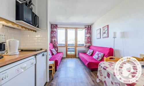 Location au ski Studio 4 personnes (Sélection ) - Résidence le Hameau du Sauget - Maeva Home - Montchavin La Plagne - Extérieur hiver
