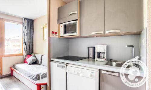 Location au ski Appartement 2 pièces 4 personnes (Sélection 31m²-1) - Résidence le Hameau du Sauget - Maeva Home - Montchavin La Plagne - Extérieur hiver
