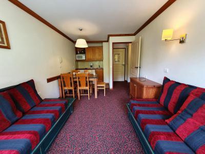 Аренда на лыжном курорте Апартаменты 2 комнат 5 чел. (309) - Résidence le Rami - Montchavin La Plagne - Салон