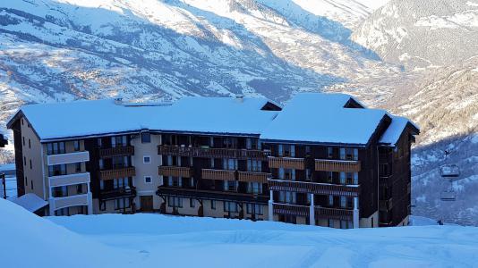 Location au ski Appartement 2 pièces 5 personnes (216) - Résidence le Rami - Montchavin La Plagne - Extérieur hiver