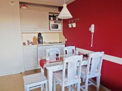 Location au ski Appartement 2 pièces 5 personnes (084) - Résidence le Rami - Montchavin - La Plagne - Coin repas