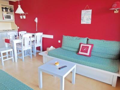 Location au ski Appartement 2 pièces 5 personnes (084) - Résidence le Rami - Montchavin - La Plagne - Séjour