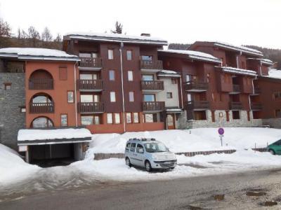 Location au ski Studio 4 personnes (749) - Résidence le Zig Zag - Montchavin - La Plagne - Extérieur hiver