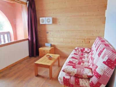 Location au ski Studio 4 personnes (749) - Résidence le Zig Zag - Montchavin - La Plagne - Canapé-lit