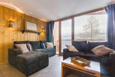 Rent in ski resort 4 room duplex apartment 8 people (GLA204) - Résidence les 3 Glaciers - Montchavin La Plagne