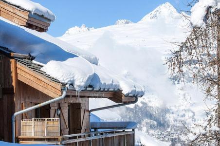 Location au ski Residence Les Chalets De Wengen - Montchavin - La Plagne - Extérieur hiver