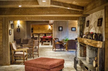 Location au ski Residence Les Chalets De Wengen - Montchavin - La Plagne - Intérieur
