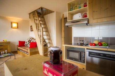 Rent in ski resort Résidence les Chalets de Wengen - Montchavin La Plagne - Kitchen