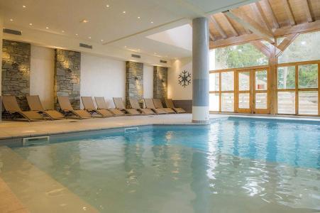 Location au ski Residence Les Chalets De Wengen - Montchavin - La Plagne - Piscine