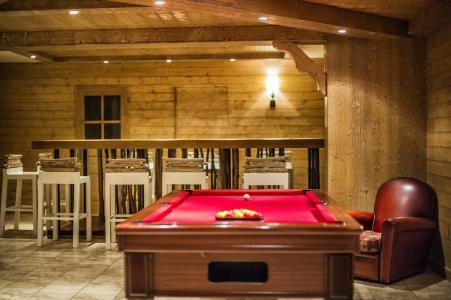 Rent in ski resort Résidence les Chalets de Wengen - Montchavin La Plagne - Pool