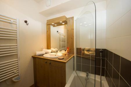 Location au ski Residence Les Chalets De Wengen - Montchavin - La Plagne - Salle de bains