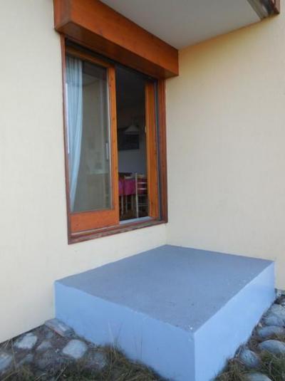 Location au ski Studio 3 personnes (002) - Résidence Pendule - Montchavin - La Plagne - Fenêtre