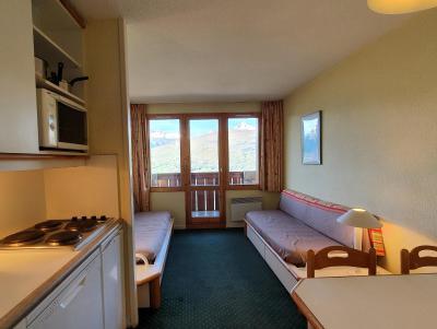 Location au ski Appartement 2 pièces 5 personnes (104) - Résidence Sextant - Montchavin La Plagne - Banquette-lit