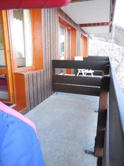 Location au ski Studio coin montagne 4 personnes (722) - Résidence Sextant - Montchavin - La Plagne - Balcon