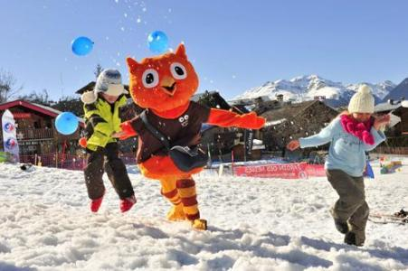 Location au ski Vvf Villages L'eterlou - Montchavin - La Plagne - Extérieur hiver