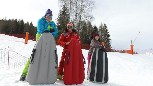 Location au ski VVF Villages le Balcon du Mont-Blanc - Montchavin La Plagne - Extérieur hiver