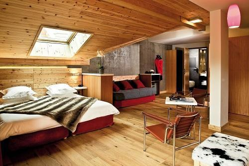 Location au ski Anova Hotel & Spa - Montgenèvre - Chambre