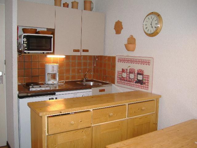 Location au ski Appartement 2 pièces 5 personnes (420) - La Residence Ferme D'augustin - Montgenèvre - Kitchenette