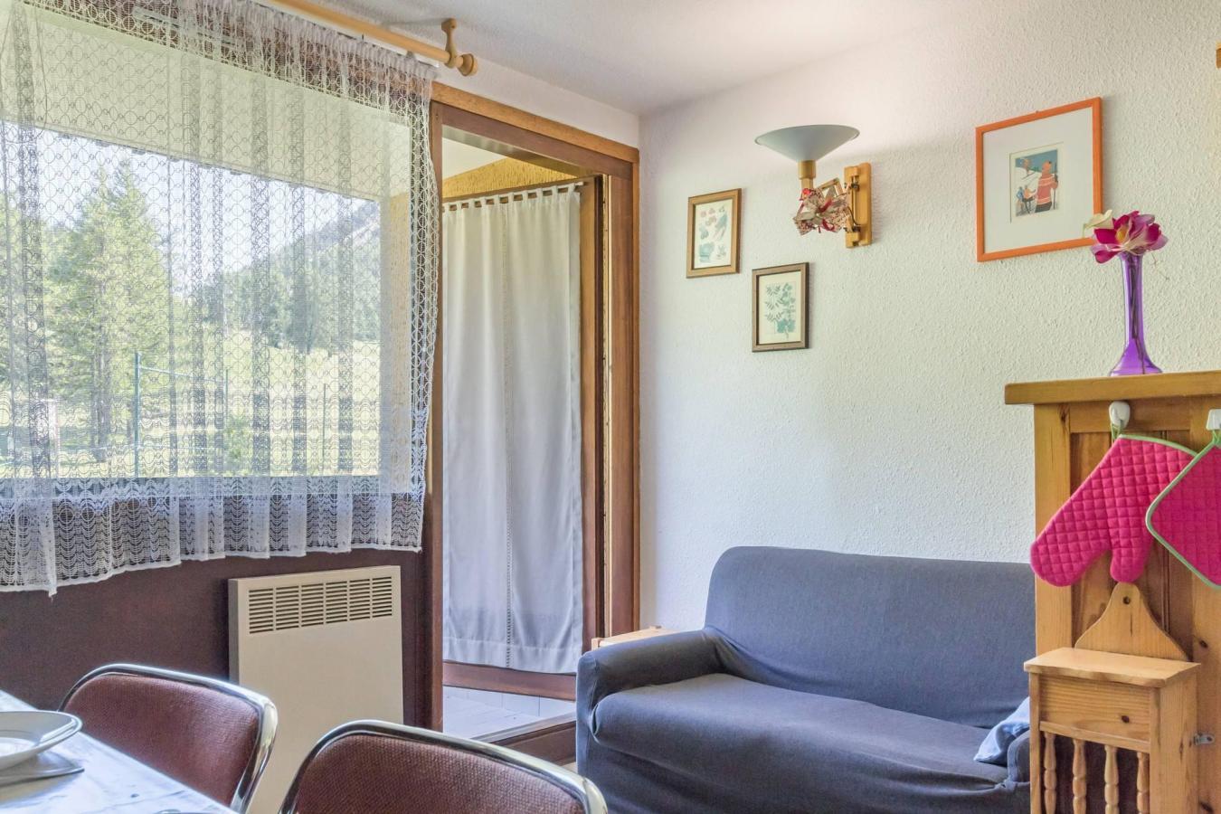 Location au ski Appartement 2 pièces coin montagne 4 personnes (DOTA14) - La Residence Ferme D'augustin - Montgenèvre - Lits superposés