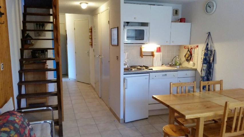 Location au ski Appartement 3 pièces 6 personnes (264) - La Residence Ferme D'augustin - Montgenèvre - Kitchenette
