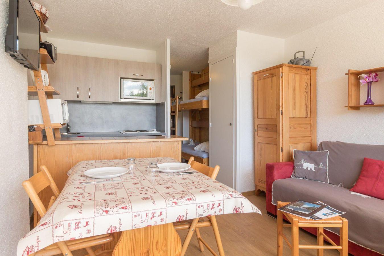 Location au ski Studio coin nuit 4 personnes (VAD319) - La Residence Les Chalmettes - Montgenèvre