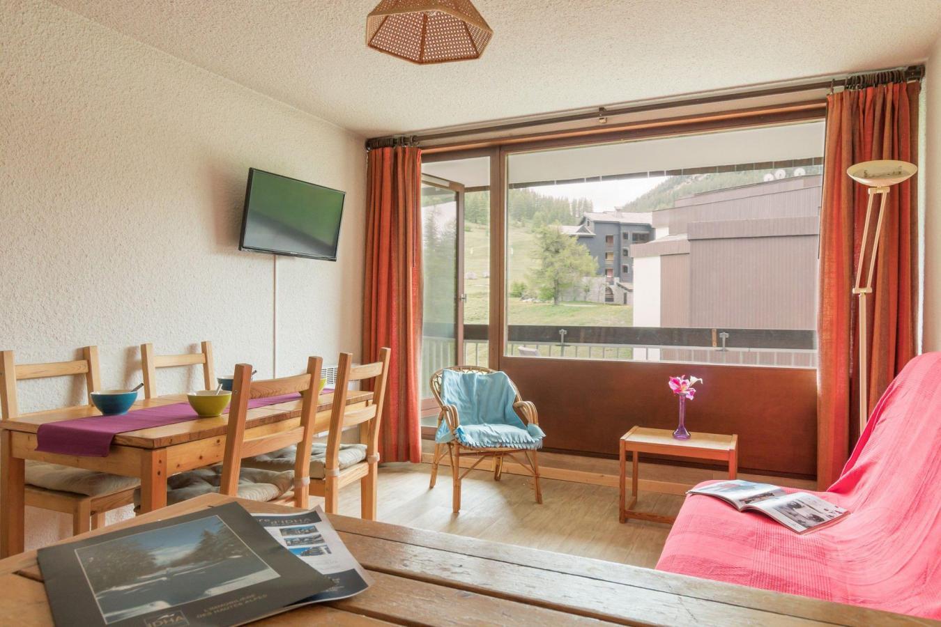 Location au ski Appartement 2 pièces coin montagne 6 personnes (BEN329) - La Residence Les Chalmettes - Montgenèvre - Coin repas