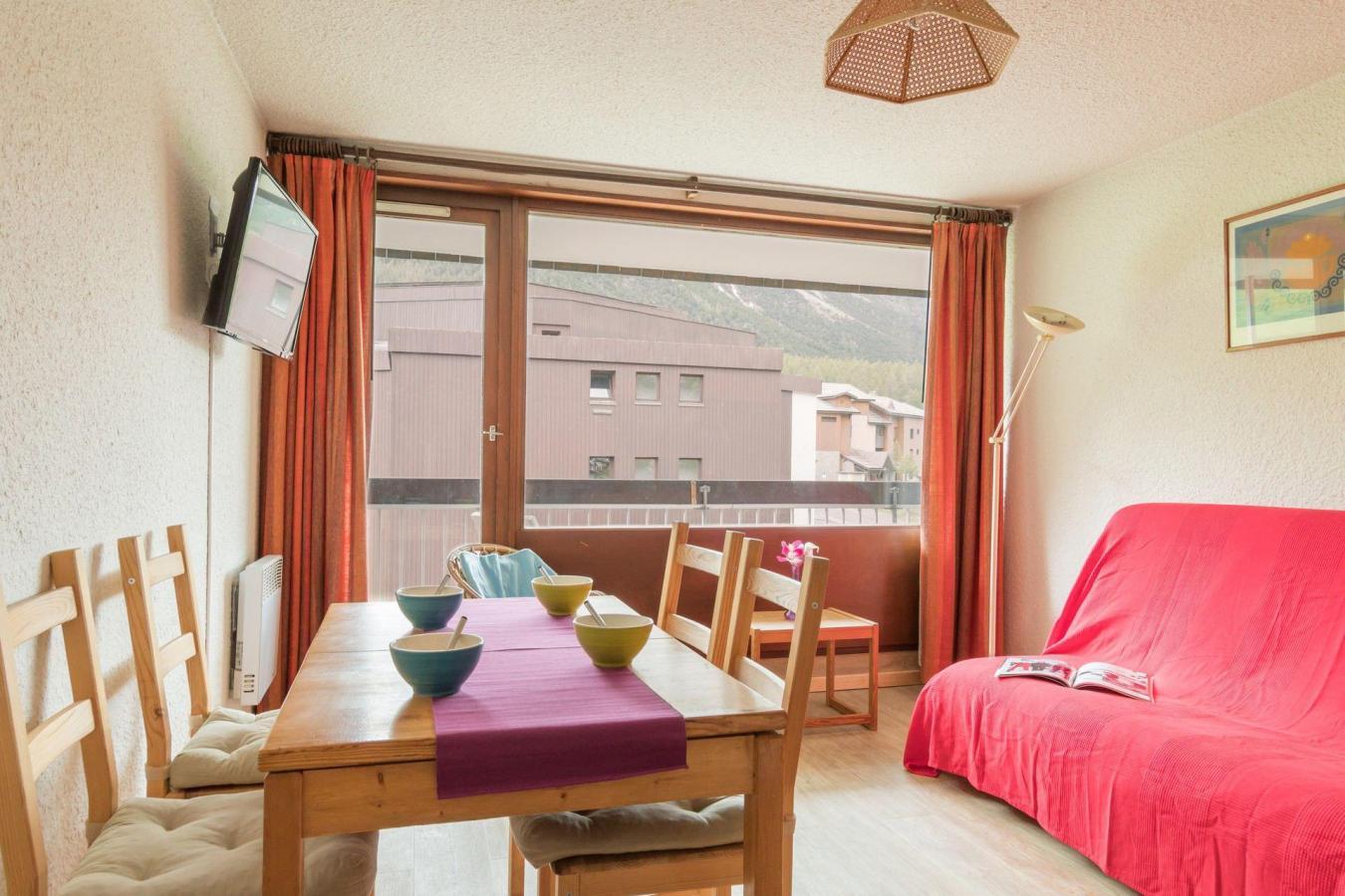 Location au ski Appartement 2 pièces coin montagne 6 personnes (BEN329) - La Residence Les Chalmettes - Montgenèvre - Lits superposés