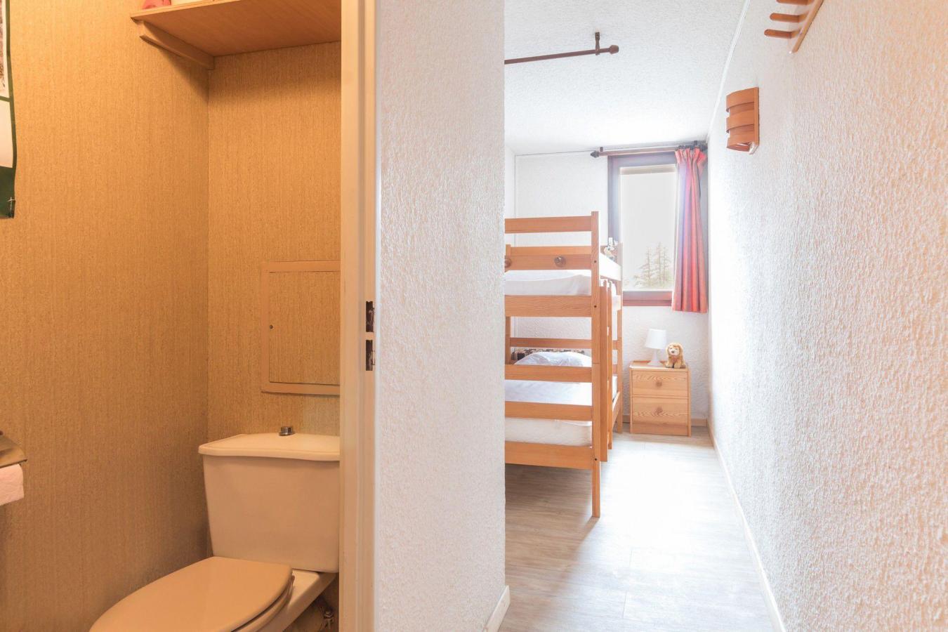Location au ski Appartement 2 pièces coin montagne 6 personnes (BEN329) - La Residence Les Chalmettes - Montgenèvre - Wc