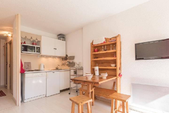 Location au ski Studio coin nuit 4 personnes (PAU403) - La Residence Les Chalmettes - Montgenèvre - Coin repas