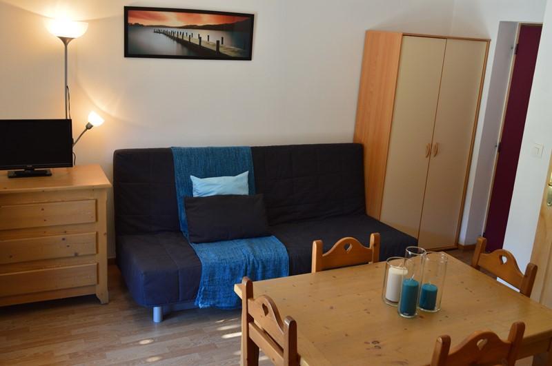 Location au ski Appartement 2 pièces 4 personnes (NG 10) - La Residence Neige Et Golf - Montgenèvre - Coin repas
