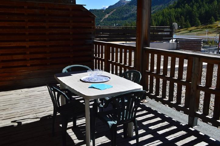 Location au ski Appartement 2 pièces 4 personnes (NG 10) - La Residence Neige Et Golf - Montgenèvre - Lits superposés