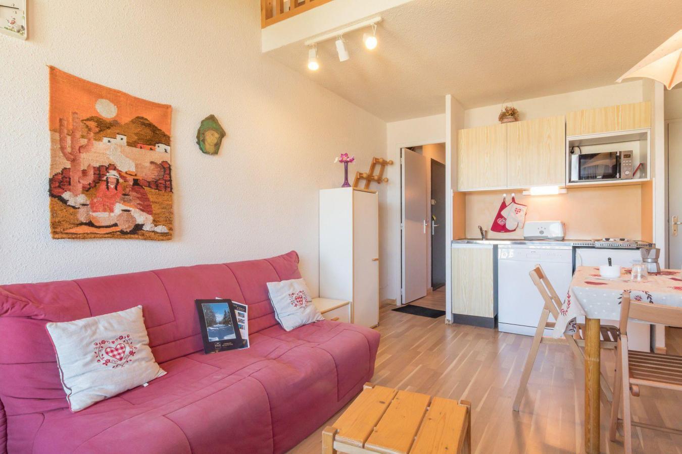 Location au ski Studio coin montagne 4 personnes (25) - Residence Central Station - Montgenèvre