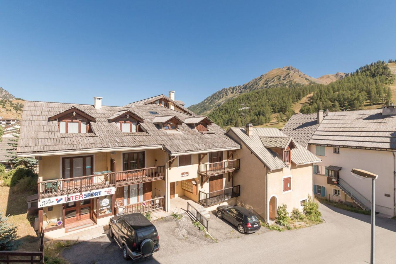 Location au ski Studio coin montagne 4 personnes - Residence Central Station - Montgenèvre