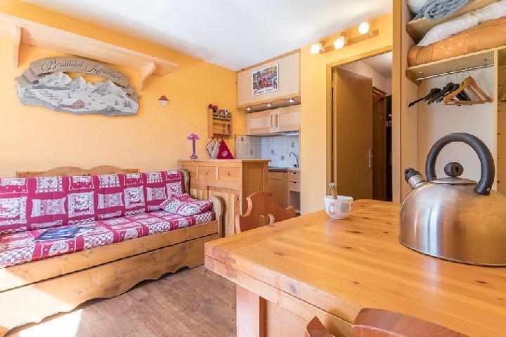 Location au ski Studio coin montagne 4 personnes (SALA05) - Residence Central Station - Montgenèvre