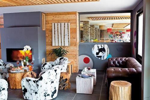 Location au ski Anova Hôtel & Spa - Montgenèvre - Intérieur
