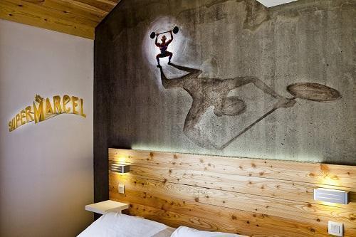 Location au ski Anova Hôtel & Spa - Montgenèvre - Chambre