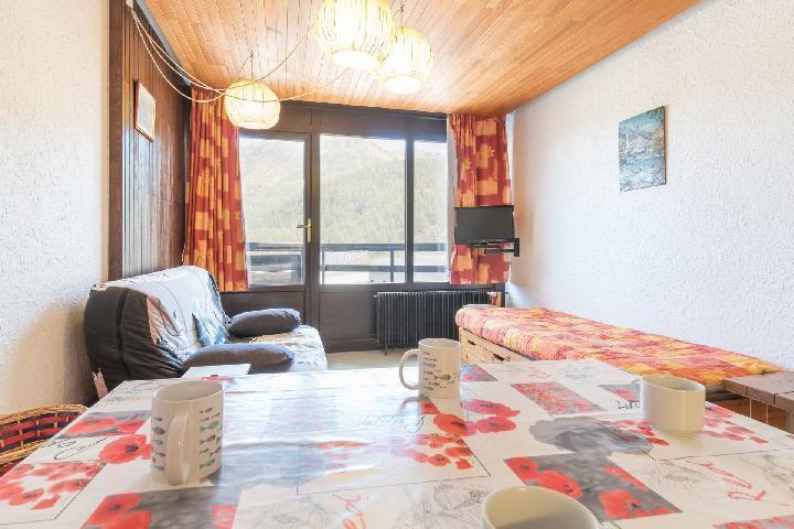 Location au ski Appartement 2 pièces coin montagne 6 personnes (MANGIN) - La Residence La Loubatiere - Montgenèvre