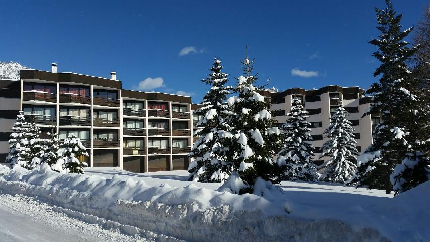 Location au ski La Residence La Renardiere - Montgenèvre - Extérieur hiver