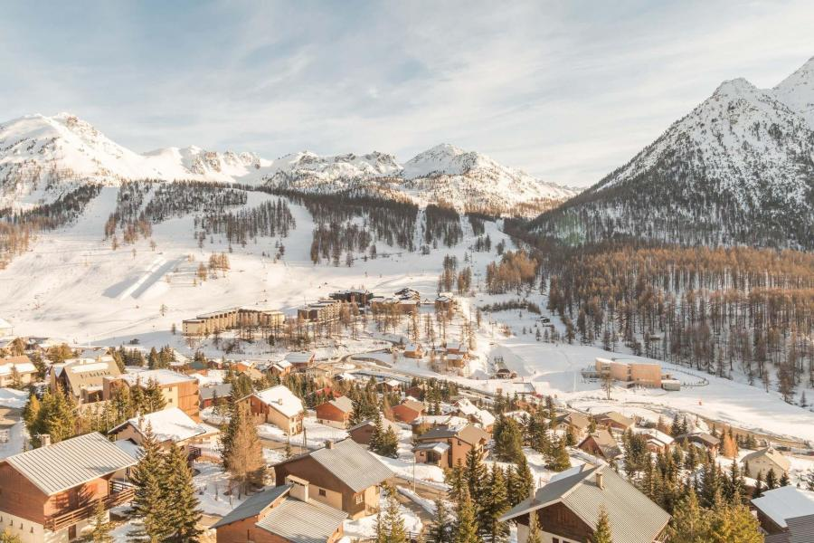Location au ski Appartement 2 pièces coin nuit 6 personnes (HEN413) - La Residence Le Plein Soleil - Montgenèvre