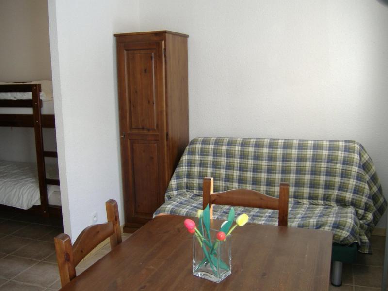 Location au ski Studio coin nuit 4 personnes (INCH01) - La Residence Le Plein Soleil - Montgenèvre - Canapé-lit