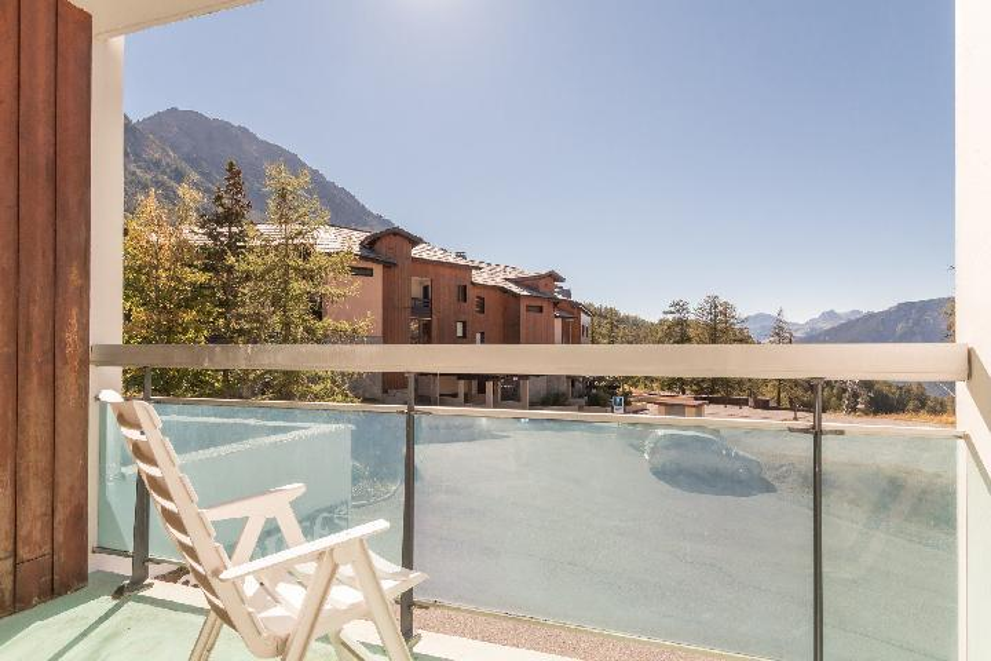 Location au ski Studio coin montagne 4 personnes (MAL41) - La Residence Les Anges - Montgenèvre - Balcon