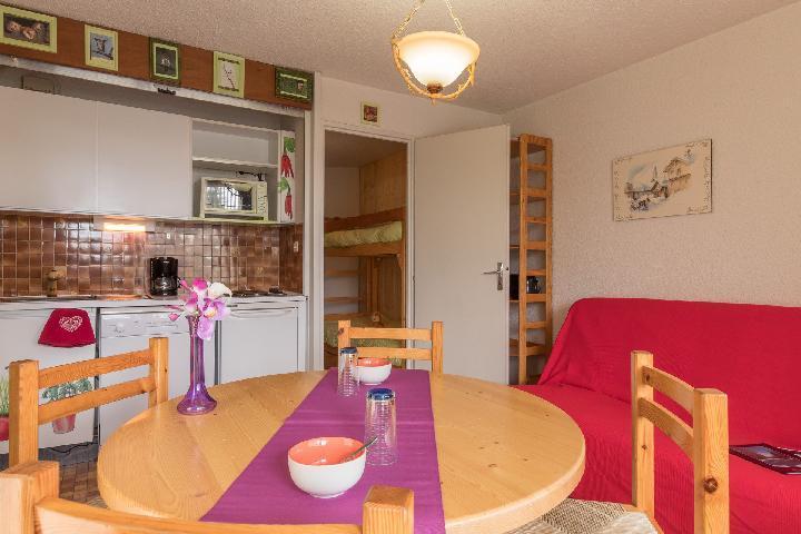 Location au ski Studio coin nuit 4 personnes (ORE225) - La Residence Les Chalmettes - Montgenèvre