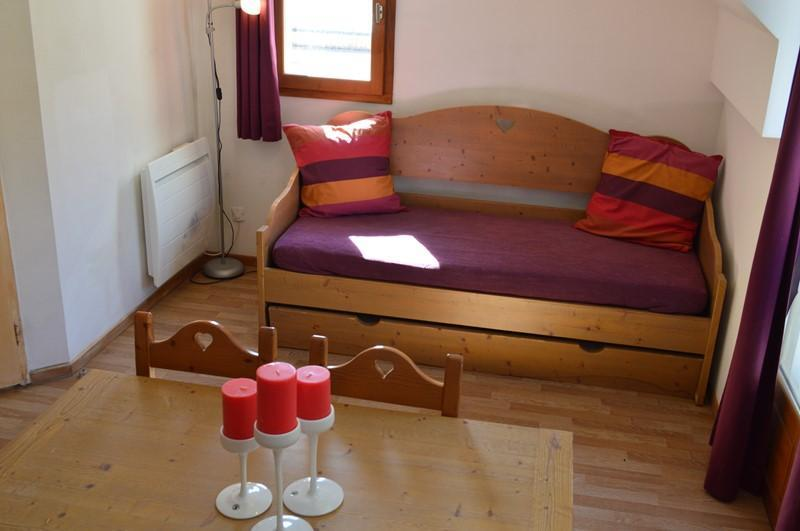 Location au ski Appartement 2 pièces 4 personnes (NG20) - La Residence Neige Et Golf - Montgenèvre - Banquette-lit tiroir