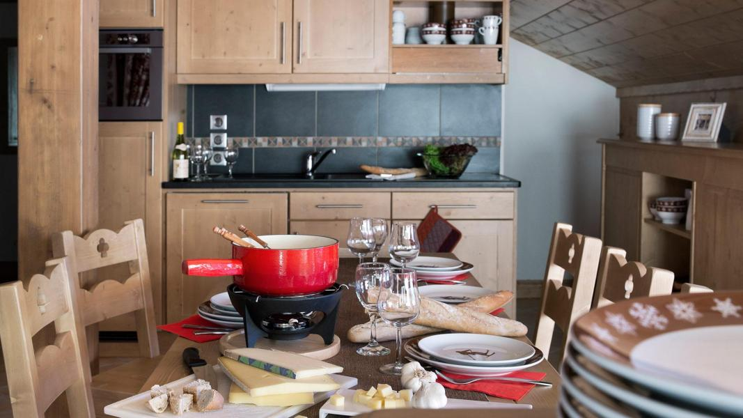 Skiverleih Le Chalet des Dolines - Montgenèvre - Küche