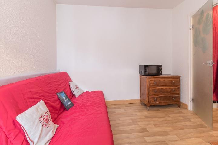 Location au ski Studio 2 personnes (DAVB12) - Residence Arzerier - Montgenèvre - Canapé-lit