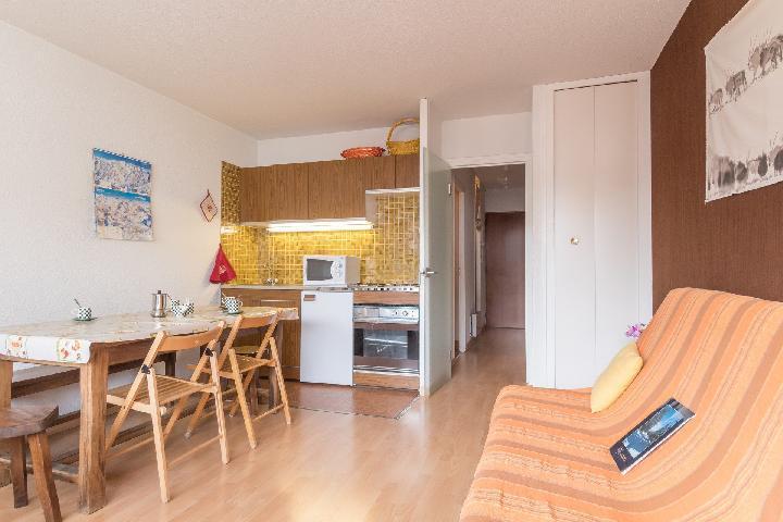 Location au ski Studio coin montagne 5 personnes (DETAR2) - Residence Arzerier - Montgenèvre - Banquette