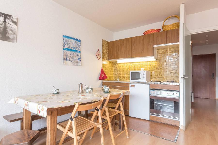 Location au ski Studio coin montagne 5 personnes (DETAR2) - Residence Arzerier - Montgenèvre - Salle à manger