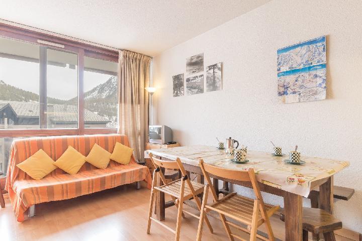 Location au ski Studio coin montagne 5 personnes (DETAR2) - Residence Arzerier - Montgenèvre - Séjour