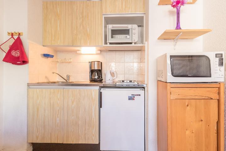 Location au ski Appartement 2 pièces coin montagne 5 personnes (BOUQ03) - Residence Central Station - Montgenèvre